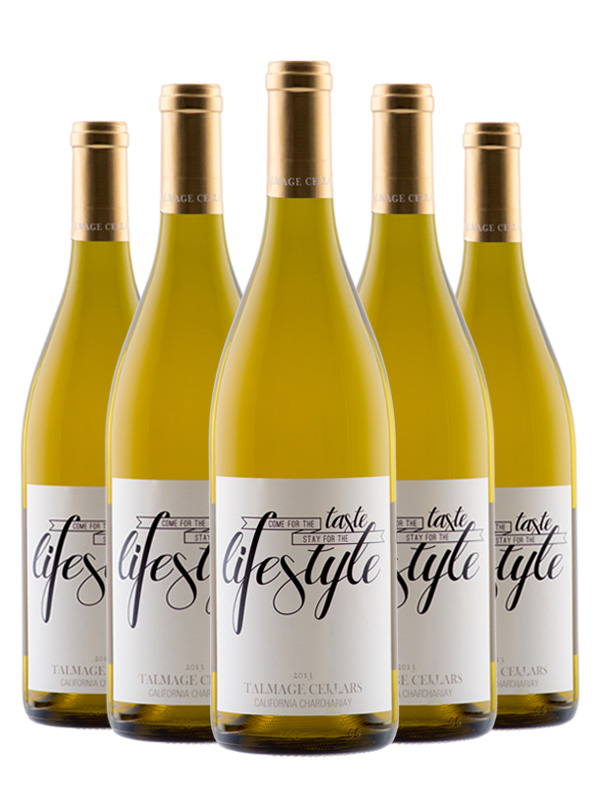 Case of Personalized Chardonnay