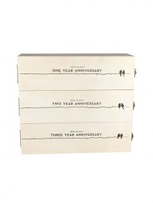 Anniversary Wine Gift Box – WineShop At Home 3-tiered wine gift box