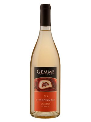 Gemme Cellars 2016 California Gewürztraminer
