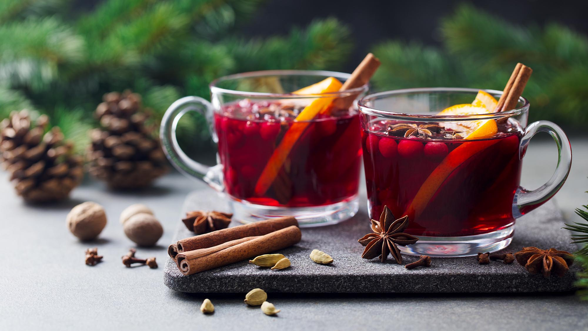 Let It Snow Mulled Wine