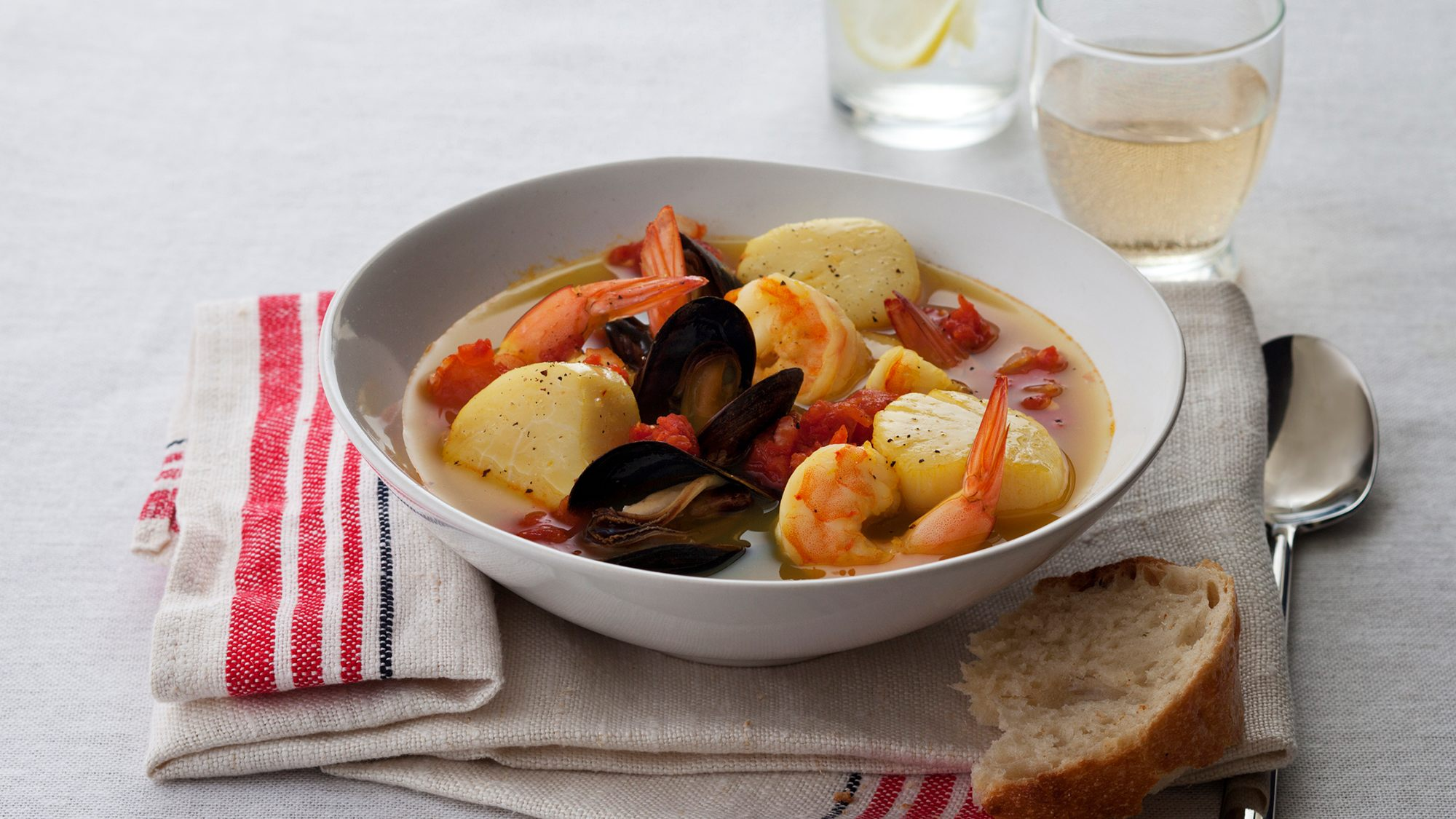 Recipe image for Spiced Seafood Stew