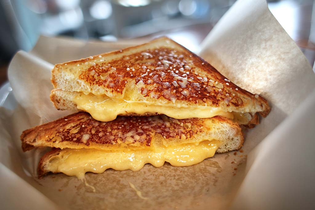 """Killer Grilled Cheese from the Movie """"Chef"""""""