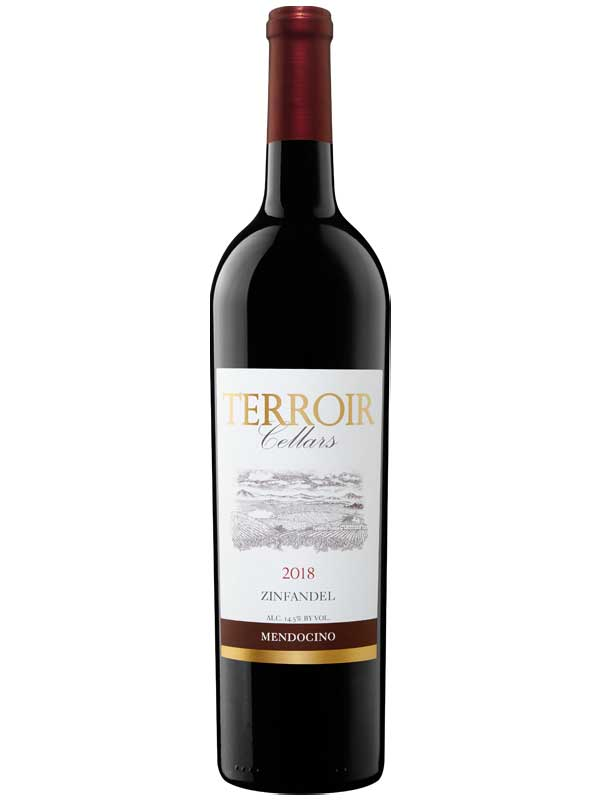 Terroir Cellars 2018 Mendocino, California Zinfandel