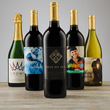 Group of Personalized Wine