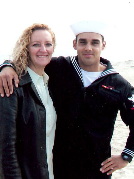 Debbie Lee with son Marc Alan Lee