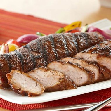 Grilled Sweet and Savory Pork Tenderloin